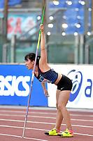 Huihui Li of China competes in the women's javelin throw at the IAAF Diamond League Golden Gala <br /> Roma 06-06-2019 Stadio Olimpico, <br /> Meeting Atletica Leggera <br /> Photo Andrea Staccioli / Insidefoto