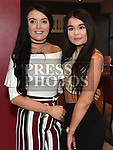Megan Shevlin celebrating her 21st birthday in Brú with sister Michaela. Photo:Colin Bell/pressphotos.ie
