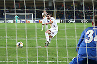 Jordan Veretout of AS Roma scores on penalty the goal of 0-1 for his side<br /> Istanbul 28-11-2019 <br /> Football Europa League 2019/2020 <br /> Istanbul Basaksehir - AS Roma    <br /> Photo Gino Mancini / Insidefoto