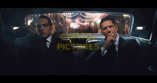 Taron Egerton, Tom Hardy<br /> in Legend (2015)  <br /> *Filmstill - Editorial Use Only*<br /> CAP/NFS<br /> Image supplied by Capital Pictures