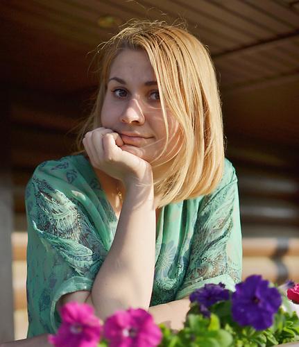 Studentin Ksenia Korobowa (privat)