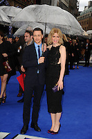 "James McAvoy and wife, Anne Marie Duff arriving for the ""X-Men: Days of Future Past"" UK premiere at the Odeon Leicester Square, London. 12/05/2014 Picture by: Steve Vas / Featureflash"