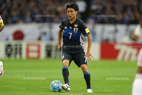 Ryota Ohshima (JPN), September 1, 2016 - Football / Soccer : Ryota Ohshima of Japan runs with the ball during the 2018 FIFA World Cup Russia & AFC Asian Cup UAE 2019 Preliminary Joint Final Qualification Round match between Japan and UAE at Saitama Stadium 2002 in Saitama, Japan (Photo by AFLO)