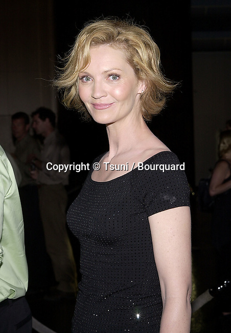 Joan Allen arriving at the premiere of Mist of Avalon at the Director Guild of America in Los Angeles. The Mist of Avalon is the legendary story of Camelot seen through the eyes of the women who wielded power behind King Arthur throne. June 25, 2001  AllenJoan16.jpg