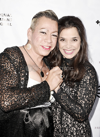 """BEVERLY HILLS, CA - AUGUST 26: Bamby Salcedo and Kamala Lopez attend the """"Equal Means Equal"""" Special Screening at the Music Hall on August 20, 2016 in Beverly Hills, CA. Koi Sojer, Snap'N U Photos / MediaPunch"""