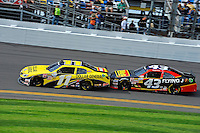 Brian Scott (#11) and Michael Annett (#43)