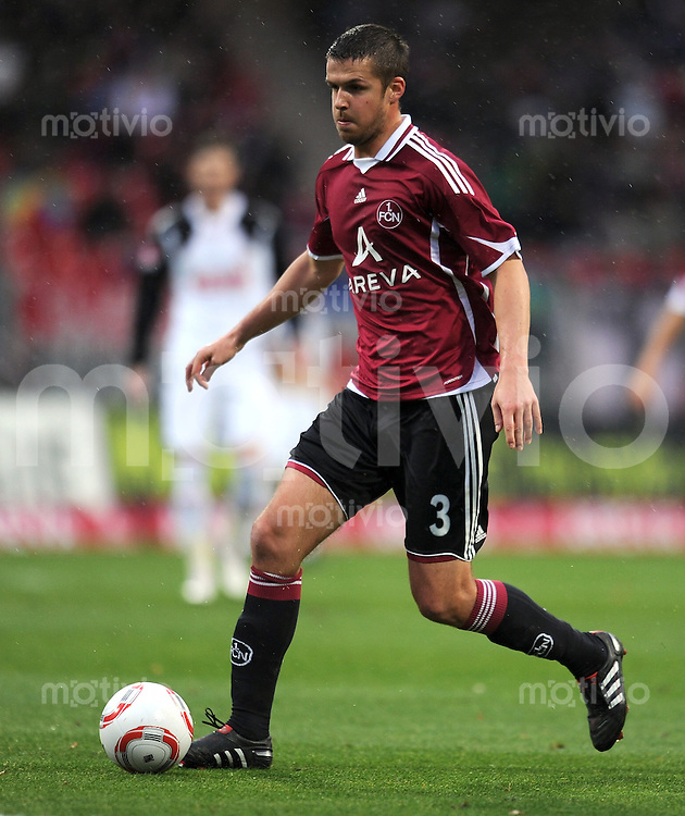 Fussball 1. Bundesliga :  10. Spieltag    Saison   2010/2011      1 FC Nuernberg - 1 FC Koeln  06.11.2010 Per Nilsson (1 FC Nuernberg)