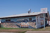 One of many murals in Tucumcari New Mexico on route 66.