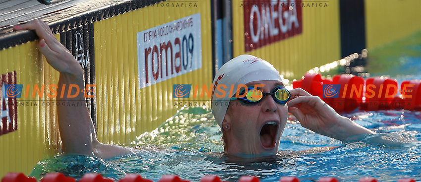 Roma 30th July 2009 - 13th Fina World Championships .From 17th to 2nd August 2009.200m Breaststroke.Pierse Annamay CAN New W.R..photo: Roma2009.com/InsideFoto/SeaSee.com