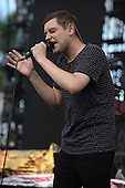 MIAMI FL - JUNE 26: James Alexander Graham of The Twilight Sad performs at Bayfront Park Amphitheater on June 26, 2016 in Miami, Florida. Photo by Larry Marano © 2016