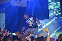 MIAMI BEACH, FL - SEPTEMBER 01: Timbaland performs during the LeSUTRA Sparkling Liqueur launch at Fontainebleau Miami Beach on September 1, 2012 in Miami Beach, Florida. (photo by: MPI10/MediaPunch Inc.) /NortePhoto.com<br />