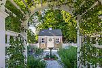 A summer garden in Sandwich, Cape Cod, MA