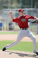 Chase Anderson, Arizona Diamondbacks 2010 minor league spring training..Photo by:  Bill Mitchell/Four Seam Images.