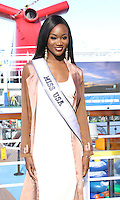 NEW YORK, NY November 04:Deshauna Barber at Carnival Vista at Piere 88 in New York .November 04, 2016. Credit:RW/MediaPunch