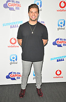 Sonny Jay Muharrem at the Capital FM Summertime Ball 2018, Wembley Stadium, Wembley Park, London, England, UK, on Saturday 09 June 2018.<br /> CAP/CAN<br /> &copy;CAN/Capital Pictures