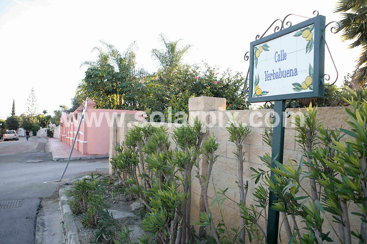 **ALL ROUND PICTURES FROM SOLARPIX.COM**.**WORLDWIDE SYNDICATION RIGHTS**.Pictures from the shooting today in the Costa del Sol, between Estepona and Marbella. 2 men (Patrick Doyle and Gary Hutch) were  in a BMW four-wheel drive car when occupants of another BMW car opened fire on them, causing them to crash as the driver lost control. Patrick Doyle then exited the passenger side of the car and was then shot twice in the head. ..This pic: Calle Yerbabuena..JOB REF:  5694 SCR       DATE: 04_02_2008.**MUST CREDIT SOLARPIX.COM OR DOUBLE FEE WILL BE CHARGED* *UNDER NO CIRCUMSTANCES IS THIS IMAGE TO BE REPRODUCED FOR ANY ONLINE EDITION WITHOUT PRIOR PERMISSION*