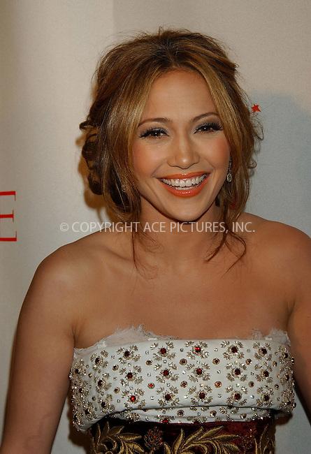 WWW.ACEPIXS.COM . . . . . ....NEW YORK, MAY 8, 2006....Jennifer Lopez at Time Magazine's 100 Most Influential People 2006.....Please byline: KRISTIN CALLAHAN - ACEPIXS.COM.. . . . . . ..Ace Pictures, Inc:  ..(212) 243-8787 or (646) 679 0430..e-mail: picturedesk@acepixs.com..web: http://www.acepixs.com