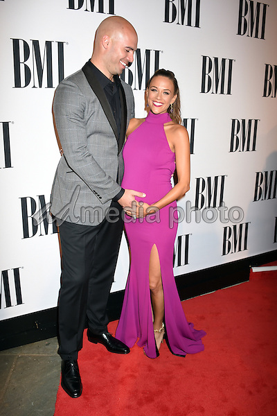 03 November 2015 - Nashville, Tennessee - Jana Kramer, Mike Caussin. 63rd Annual BMI Country Awards, 2015 BMI Country Awards, held at BMI Music Row Headquarters. Photo Credit: Laura Farr/AdMedia