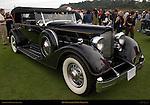 1934 Packard Sport Phaeton, Pebble Beach Concours d'Elegance