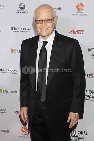 NEW YORK, NY - NOVEMBER 19: Norman Lear at the 40th International Emmy Awards in New York. November 19, 2012. © Diego Corredor/MediaPunch Inc.