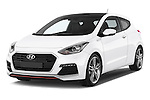 2015 Hyundai I30 Turbo 3 Door Hatchback angular front stock photos of front three quarter view