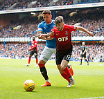 05.05.2018 Rangers v Kilmarnock: James Tavernier and Greg Taylor