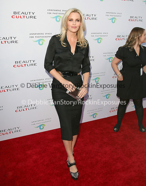 Jenny McCarthy at The opening of BEAUTY CULTURE, a photographic exploration of how feminine beauty is defined, challenged and revered in modern society held at Annenberg Space for Photography in Century City, California on May 19,2011                                                                               © 2011 Hollywood Press Agency