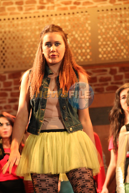 """Colaiste Na Hinse's performing The Musical """"Fame""""...(Photo credit should read Jenny Matthews/NEWSFILE)..."""