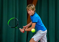 Wateringen, The Netherlands, December 4,  2019, De Rhijenhof , NOJK 14 and18 years, Lukas Gruben (NED)<br /> Photo: www.tennisimages.com/Henk Koster