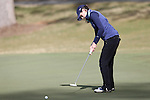 16 April 2016: Notre Dame's Jordan Ferreira. The Second Round of the Atlantic Coast Conference's Womens Golf Tournament was held at Sedgefield Country Club in Greensboro, North Carolina.