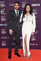 Riyad Mahrez and Rita Johal <br /> at the BT Sport Industry Awards 2017 at Battersea Evolution, London. <br /> <br /> <br /> ©Ash Knotek  D3259  27/04/2017