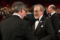 Oscar&reg; nominee Steven Spielberg during the live ABC telecast of the 90th Oscars&reg; at the Dolby&reg; Theatre in Hollywood, CA on Sunday, March 4, 2018.<br /> *Editorial Use Only*<br /> CAP/PLF/AMPAS<br /> Supplied by Capital Pictures
