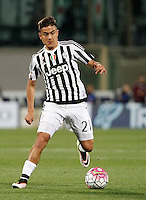 Calcio, Serie A: Fiorentina vs Juventus. Firenze, stadio Artemio Franchi, 24 aprile 2016.<br /> Juventus&rsquo; Paulo Dybala in action during the Italian Serie A football match between Fiorentina and Juventus at Florence's Artemio Franchi stadium, 24 April 2016. <br /> UPDATE IMAGES PRESS/Isabella Bonotto
