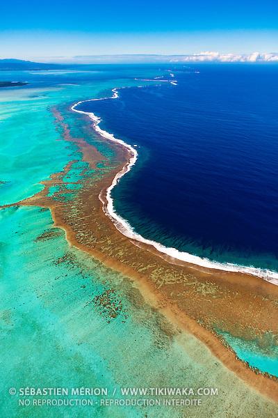 Grand Récif de Koné, province Nord, Nouvelle-Calédonie