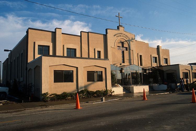 1987 November..Redevelopment.Huntersville 1&2 (R-70)..UNITED HOUSE OF PRAYER...NEG#.NRHA#..
