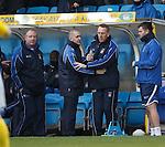 Kilmarnock manager Kenny Shiels is raging.