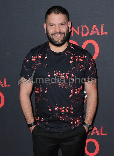08 April 2017 - West Hollywood, California - Guillermo Diaz. ABC's 'Scandal' 100th Episode Celebration held at Fig & Olive in West Hollywood. Photo Credit: Birdie Thompson/AdMedia