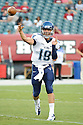 Villanova Wildcats John Robertson (19) in action during a game against the Temple Owls on August 31, 2012 at Lincoln Financial Field in Philadelphia, PA. Temple beat Villanova 41-10.