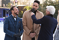"Jason Gardiner, Ashley Banjo and Philip Schofield<br /> at the ""Dancing on Ice"" launch photocall, natural History Museum, London<br /> <br /> <br /> ©Ash Knotek  D3365  19/12/2017"