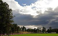 Jul 31, 2009; Flagstaff, AZ, USA; General view of Walkup Stadium during Arizona Cardinals training camp on the campus of Northern Arizona University. Mandatory Credit: Mark J. Rebilas-
