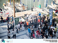 The Trofeo Princesa Sofia Iberostar celebrates this year its 50th anniversary in the elite of Olympic sailing in a record edition, to be held in Majorcan waters from 29th March to 6th April, organised by Club Nàutic S'Arenal, Club Marítimo San Antonio de la Playa, Real Club Náutico de Palma and the Balearic and Spanish federations. ©Tomas Moya/SAILING ENERGY/50th Trofeo Princesa Sofia Iberostar<br /> 30 March, 2019.