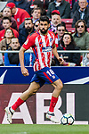 Diego Costa of Atletico de Madrid in action during the La Liga 2017-18 match between Atletico de Madrid and Athletic de Bilbao at Wanda Metropolitano  on February 18 2018 in Madrid, Spain. Photo by Diego Souto / Power Sport Images
