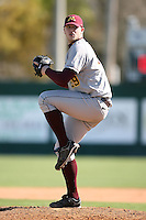 February 21, 2009:  Pitcher Seth Rosin (29) of the University of Minnesota during the Big East-Big Ten Challenge at Jack Russell Stadium in Clearwater, FL.  Photo by:  Mike Janes/Four Seam Images