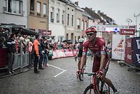 Alexander Kristoff (NOR/Katusha) after finishing<br /> <br /> 12th Eneco Tour 2016 (UCI World Tour)<br /> Stage 7: Bornem › Geraardsbergen (198km)