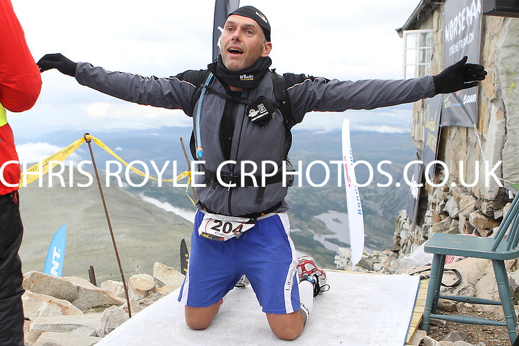 race number 204 - Gabriele Bortolotto -  Sunday Norseman Xtreme Tri 2012 - Norway - photo by chris royle / boxingheaven@gmail.com