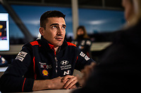 13th February 2020, Torsby base and Karlstad, Värmland County, Sweden; WRC Rally of Sweden, Shakedown event;  Breen