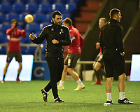 Lincoln City manager Danny Cowley during the pre-match warm-up<br /> <br /> Photographer Andrew Vaughan/CameraSport<br /> <br /> The EFL Sky Bet League Two - Oldham Athletic v Lincoln City - Tuesday 27th November 2018 - Boundary Park - Oldham<br /> <br /> World Copyright © 2018 CameraSport. All rights reserved. 43 Linden Ave. Countesthorpe. Leicester. England. LE8 5PG - Tel: +44 (0) 116 277 4147 - admin@camerasport.com - www.camerasport.com