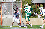 Los Angeles, CA 02/06/16 - Paul Naimo (Loyola Marymount #31) and Andrew Laron (Cal Poly #22)in action during the Cal Poly SLO Mustangs vs Loyola Marymount Lions MCLA Men's Lacrosse game.  Cal Poly defeated LMU 24-5