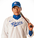 TAICHUNG, TAIWAN - FEBRUARY 27: Kang, JungHo of Team Korea poses during WBC Photo Day at the Douliu Baseball Stadium on February 27, 2013 in Douliu, Taiwan. Photo by Victor Fraile / The Power of Sport Images