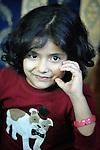 An Iraqi refugee girl in Zarqa, Jordan.